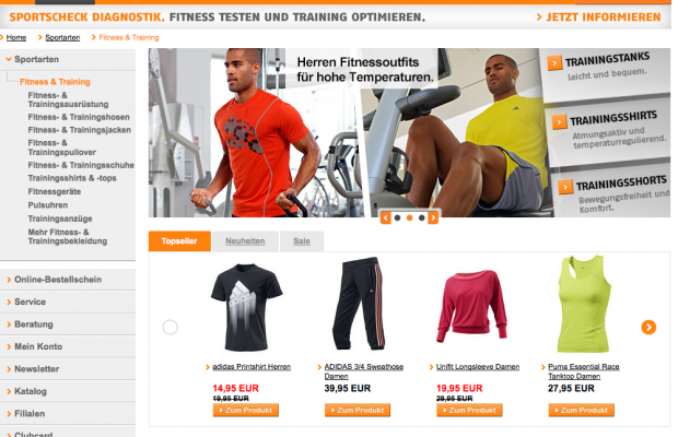 sportscheck online bestellen