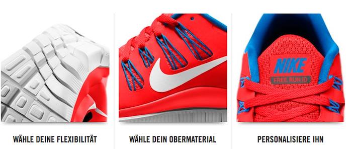 Nike Free personalisieren