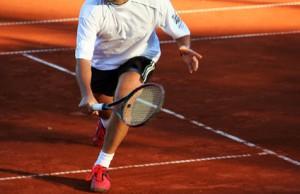Tennis Beinarbeit