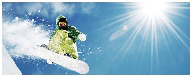 Snowboard Urlaub im Winter