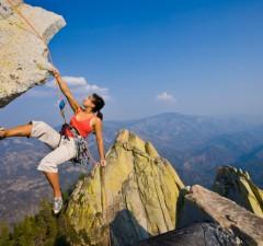 Klettern Muskelaufbau