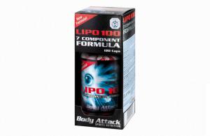 Fatburner Lipo 100 von Body-Attack