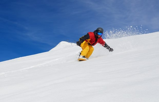 Snowboard fahren lernen