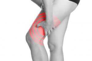 Muskelkater im Obserschenkelmuskel