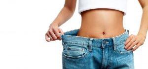 Frau durch Low-Carb-Diät abgenommen
