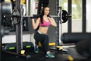 Ausfallschritte Gewichte