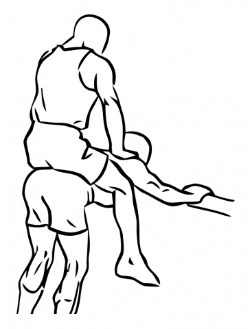 waden übungen Wadenheben - Donkey Calf Raises Ende