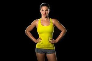 Brustmuskeltraining bei der Frau