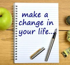Make a change in your life