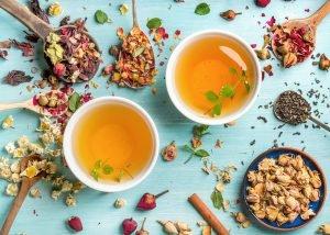 Tee und Gewürze