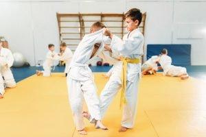 kinder lernen judo