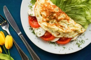 tomate mozzarella omelette nach rezept