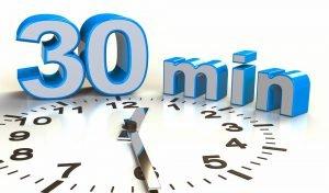 30 minuten timer