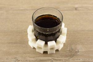 viel zucker in Getränken