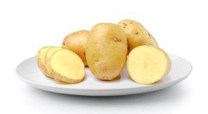 kartoffeln auf teller