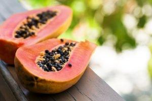 papaya bereit zum essen