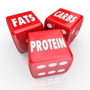 Fett Kohlenhydrate und Eiweiß