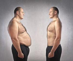 Gewicht verlieren Mann