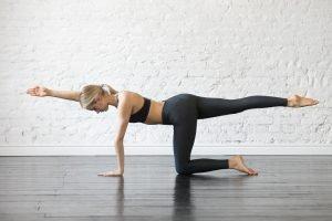Entspannung und Stärkung des Rückens