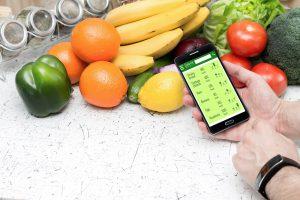 Gewicht halten mit einer App