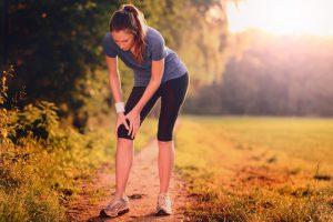 Meniskusschmerzen nach Sport