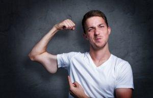 Symbolbild weniger Muskeln