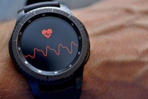 Frequenzmessung auf einer Smartwatch
