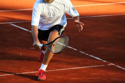 Tennis Beinarbeit