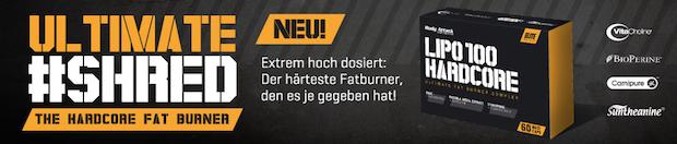 lipo100 fatburner hardcore banner