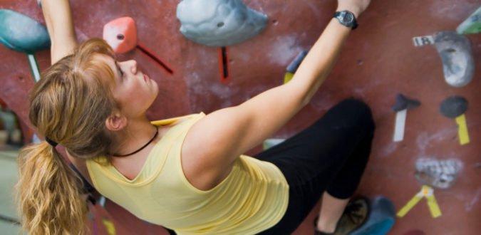 Grifftechnik Klettern