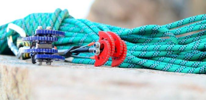 Sicherung beim Klettern