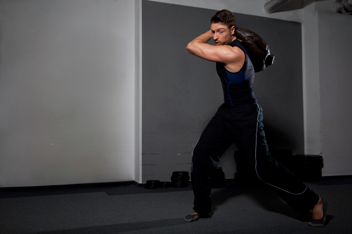 Bulgarian Sandbag Workout Test