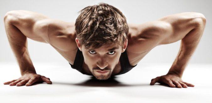 Muskelaufbau Liegestütze