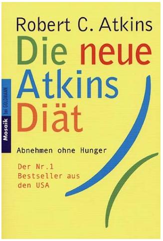 Atkins Diät - Buch