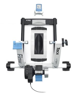 Tacx Rollentrainer Flow, weiß, T2200