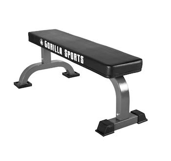 hantelbank test flach gorillasports