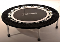 Mini-Trampolin Rebound Test