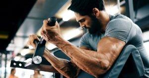 supersatz workout mann