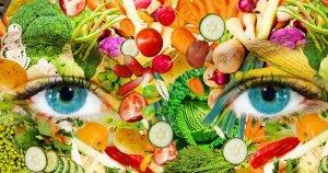 Falsches bild vom gesunden essen