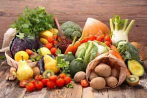 obst und gemüse symbolbild gesunde ernährung