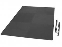 Bodenschutzmatte schwarz