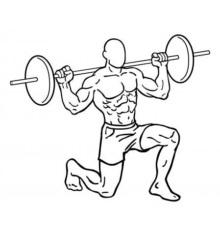 Oberschenkel Übungen - Lunges / Ausfallschritte - Ende