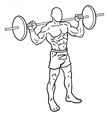 Oberschenkel Übungen - Lunges / Ausfallschritte - Start