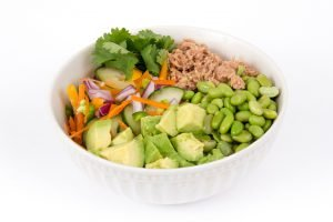 edamame thunfisch salat