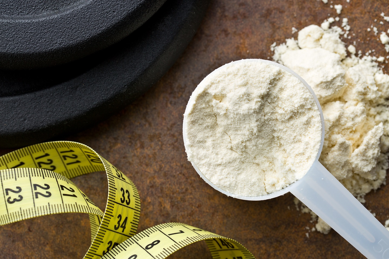 whey protein maßband hantelscheibe