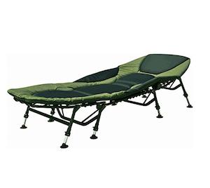 Grauvell Vorteks Karpfenliege 8 Bein Liege Angelliege Bedchair Campingliege bei Amazon