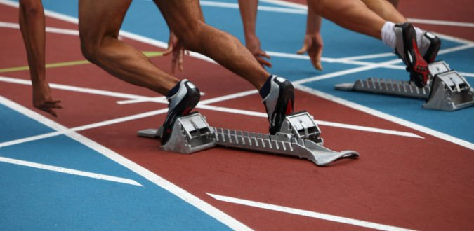 Weltrekord 100 m
