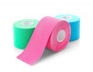 kinesio tapes in drei farben