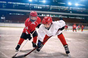 zweikampf beim eishockey