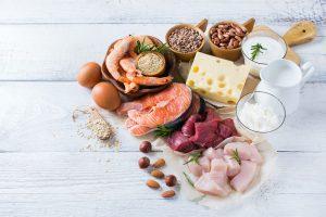 lebensmittel mit hohem proteingehalt